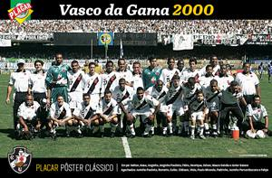 Placa Decorativa Vasco da Gama 2000 PDV462