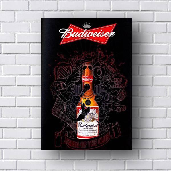 Quadro Budweiser King of Beer