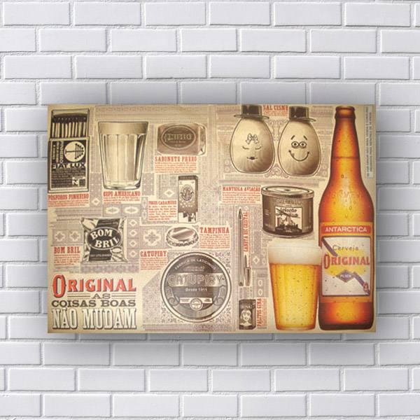 Quadro Cerveja Original