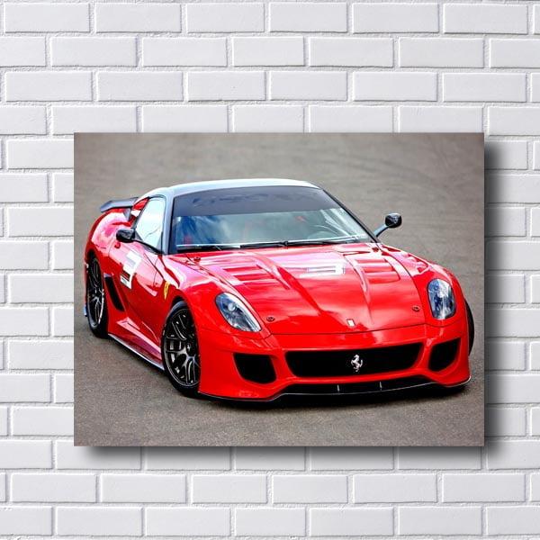Quadro Ferrari Vermelha