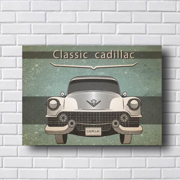 Quadro Vintage Cadillac Classic
