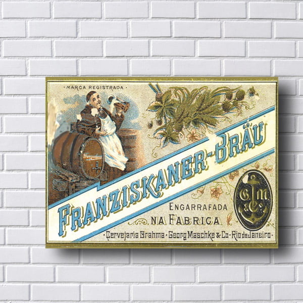 Quadro Vintage Franziskaner