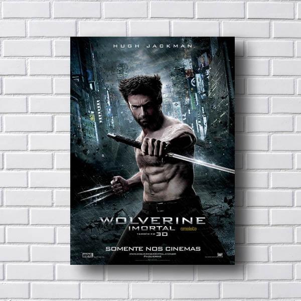 Poster Wolverine Imortal