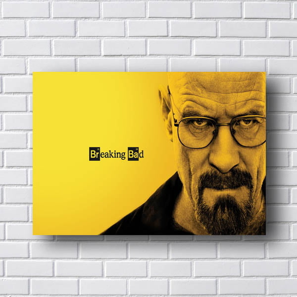 Quadro Breaking Bad Serie