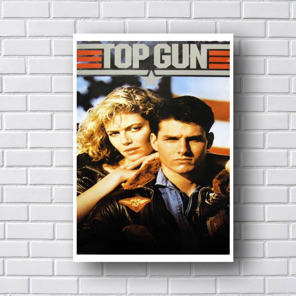 Quadro Top Gun Ases Indomáveis