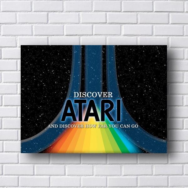 Quadro Atari Discover