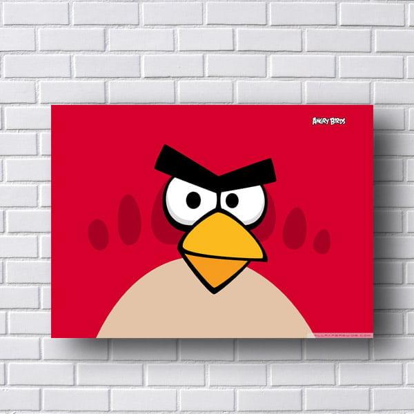 Quadro Decorativo Angry Birds