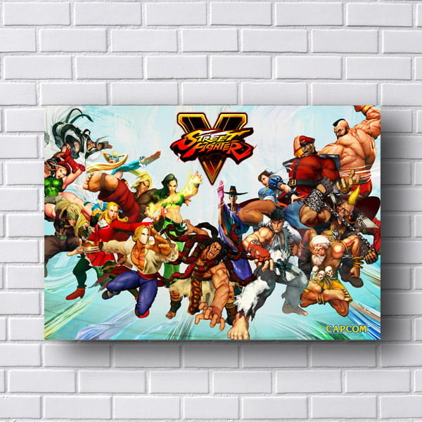 Quadro Street Fighter V