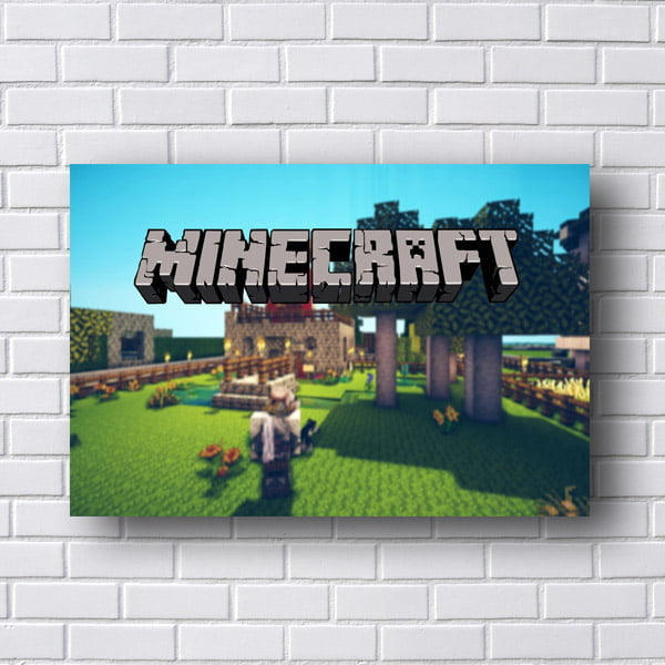 Quadro Decorativo Minecraft