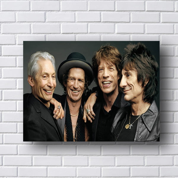 Quadro Rolling Stones Poster