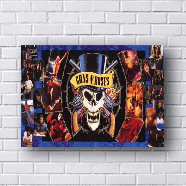 Quadro Guns N Roses Mural