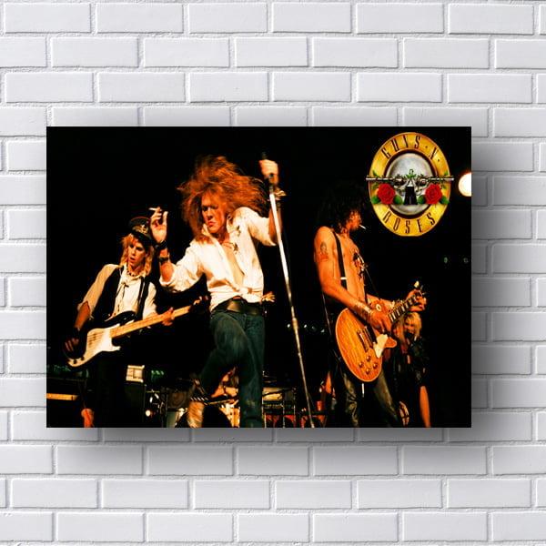 Quadro Guns N Roses Poster