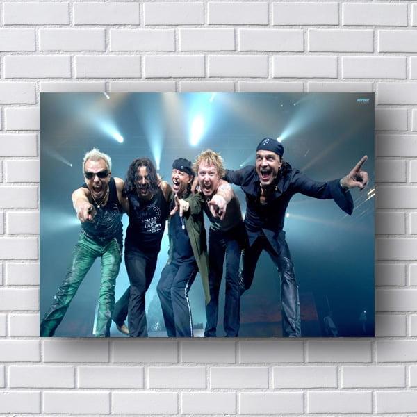 Quadro Scorpions