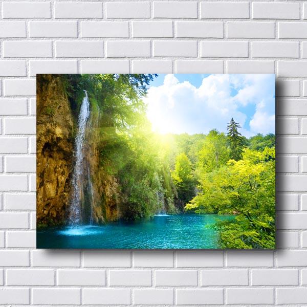Quadro Decorativo Cachoeira