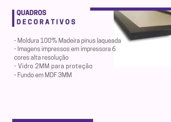 Kit Conjunto 7  Quadros Decorativos Familia, Amor Sorte 4  20x30cm  3  20x20cm
