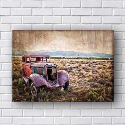 Quadro de Carro Antigo Vintage