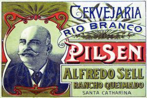 Placa Decorativa Cerveja Rio Branco Retro Vintage PDV240