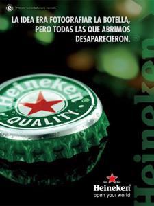 Placas Decorativas Cerveja Heineken Tampa PDV323