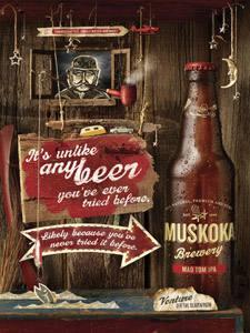 Placas Decorativas Cerveja Beer Muskuka PDV335