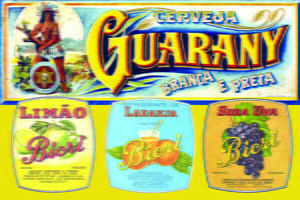 Placas Decorativas Cerveja Guarany Retro PDV315