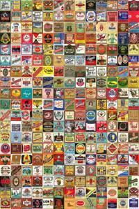 Placas Decorativas Cerveja Rotulos PDV332