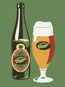 Placas Decorativas Cerveja Beer Classic PDV345