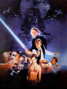 Placa Decorativa Star Wars Filme PDV497