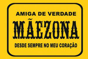 Placas Decorativas Frases Divertidas Maezona PDV281