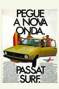 Placas Decorativas Propagandas Antigas Passat Surf PDV435