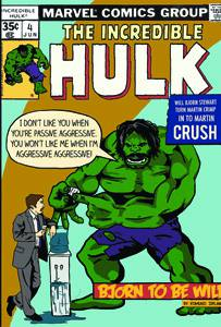 Placas Decorativas Hulk Comics Quadrinhos Retro PDV429