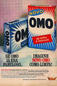 Placas Decorativas Propagandas Antigas Novo OMO PDV439