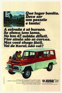 Placas Decorativas Propagandas Antigas Rural 1966 PDV436