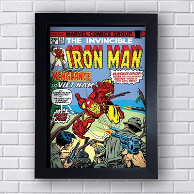 Quadro Decorativo Iron Man