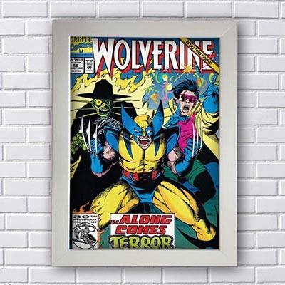 Quadro Decorativo Wolverine