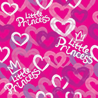 Papel de Parede Little Princess para quarto de meninas