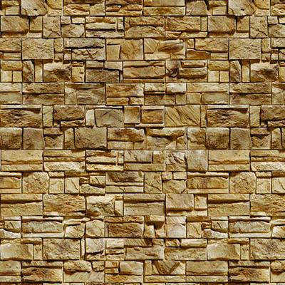Papel de Parede Pedra 3D Natural Autocolante PD32