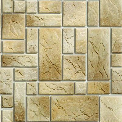 Papel de Parede Pedra Retangular Lajota Autocolante PD45