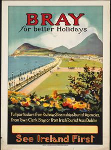 Placa Decorativa Irlanda Cartão Postal PDV555