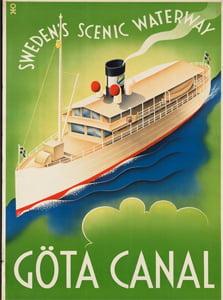 Placa Decorativa Gota Canal Cartão Postal PDV537