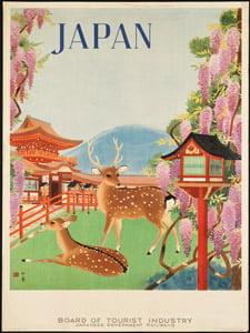 Placa Decorativa Poster Japão Cartão Postal PDV559