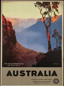 Placa Decorativa Australia Cartão Postal PDV550