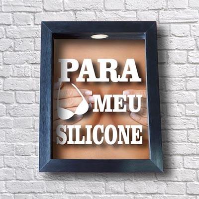Quadro Cofre Silicone