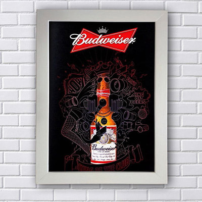 Quadro Budweiser King of Beer