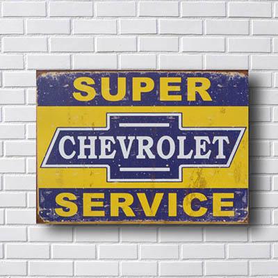 Quadro Super Chevrolet Service