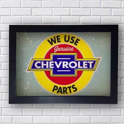Quadro We Use Chevrolet