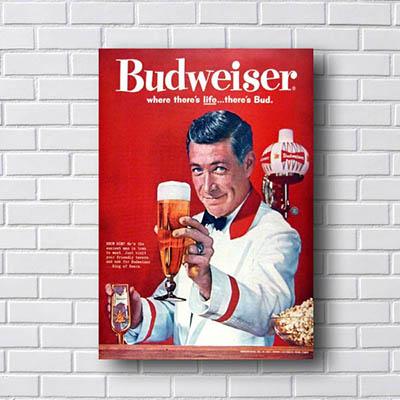 Quadro Budweiser