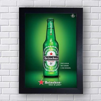 Quadro Cerveja Heineken