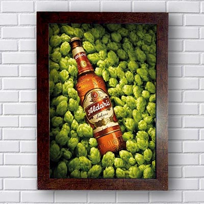 Quadro Decorativo Aldaris Beer