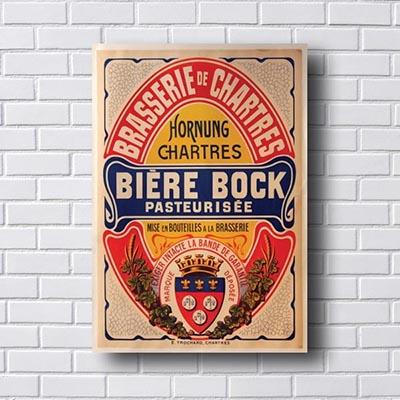 Quadro Decorativo Biere Bock