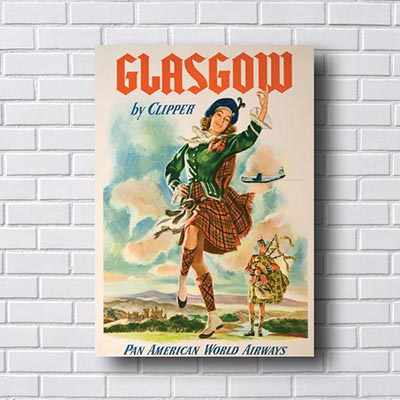 Quadro Decorativo Glasgow
